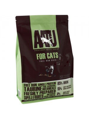 AATU CAT FREE RUN DUCK 3KG (85% ΠΑΠΙΑ)