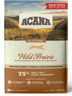 ACANA CAT WILD PRAIRIE ALL LIFE STAGES 340GR