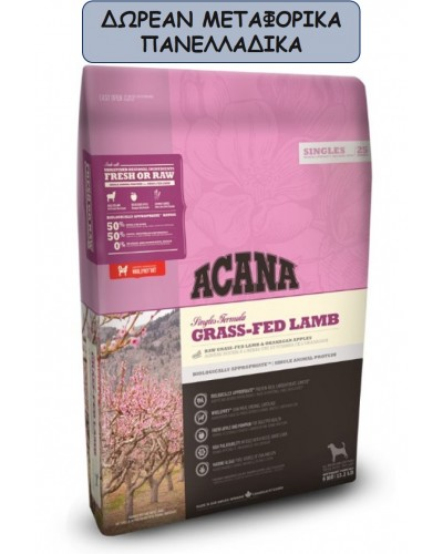 ACANA GRASS-FED LAMB 11.4KG
