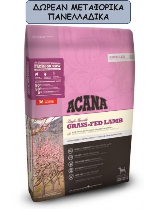 ACANA GRASS-FED LAMB 11.4KG