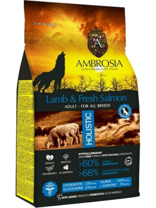 AMBROSIA GRAIN FREE ADULT LAMB & SALMON 2kg