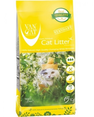 VAN CAT SUPER WHITE & CLUMPING BIG CATS 15kg