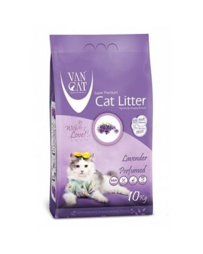 VAN CAT LAVENDER CLUMPING 10KG