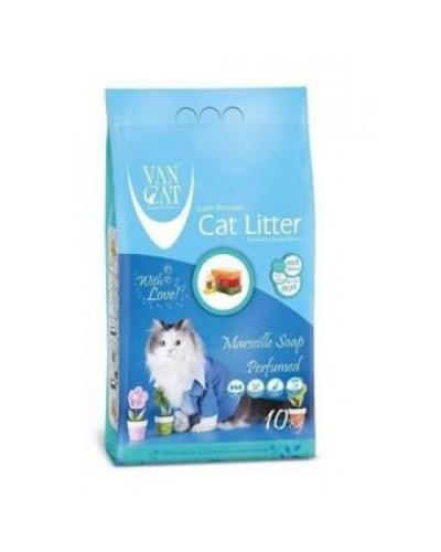 VAN CAT MASSALIAS SOAP CLUMPING 10KG (ΑΡΩΜΑ ΣΑΠΟΥΝΙ ΜΑΣΣΑΛΙΑΣ)
