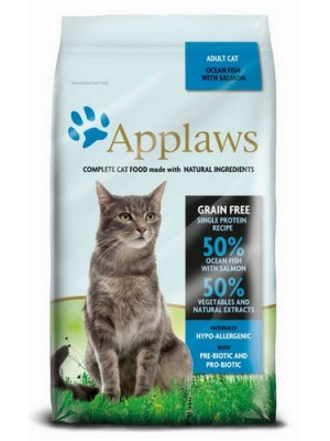 APPLAWS ADULT CAT FISH & SALMON 6KG