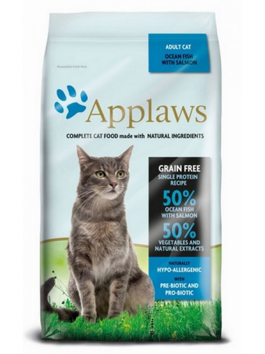 APPLAWS ADULT CAT Fish & Salmon 1,8kg