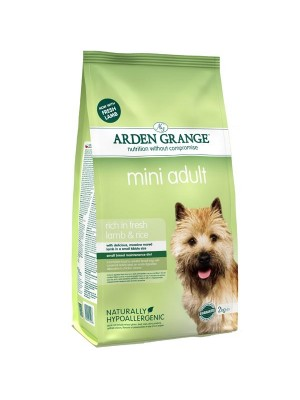 ARDEN GRANGE ADULT LAMB & RICE MINI 2kg