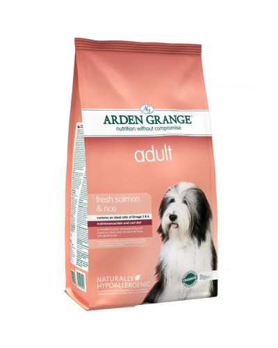 ARDEN GRANGE ADULT SALMON & RICE 2kg