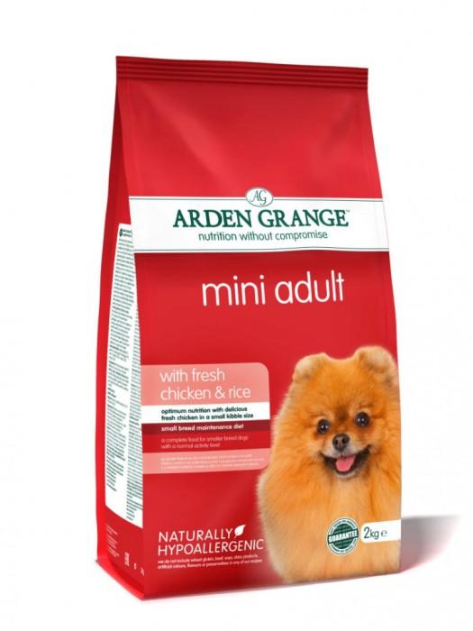 ARDEN GRANGE ADULT CHICKEN & RICE MINI 6kg