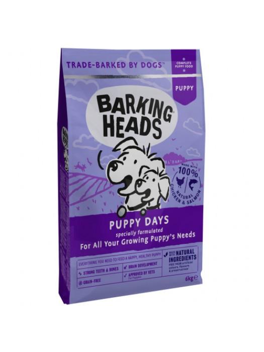 BARKING HEADS PUPPY DAYS CHICKEN & SALMON 6KG