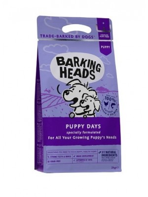 BARKING HEADS PUPPY DAYS CHICKEN & SALMON 2kg