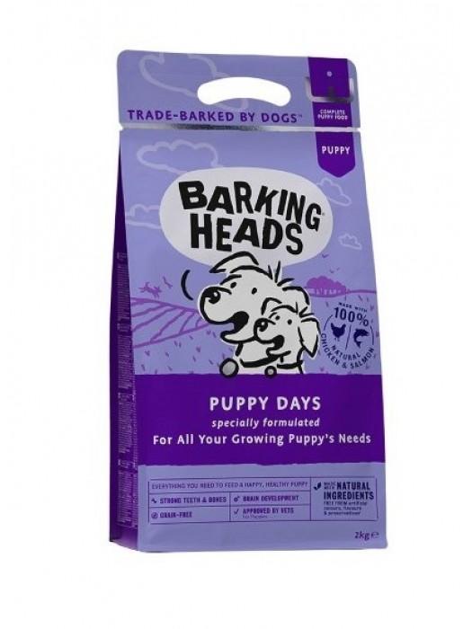 BARKING HEADS PUPPY DAYS CHICKEN & SALMON 2kg