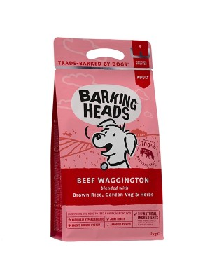 BARKING HEADS BEEF WAGGINGTON 2KG