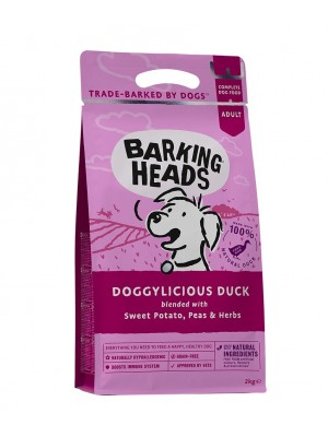BARKING HEADS DOGGYLICIOUS DUCK GRAIN FREE 2kg
