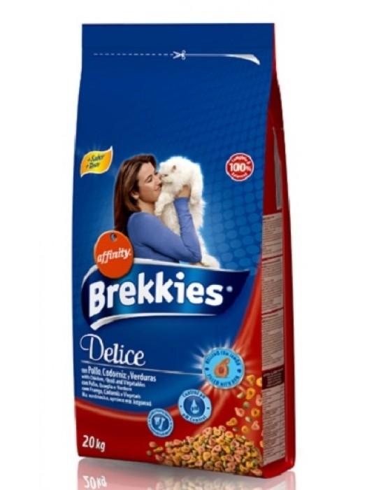 BREKKIES CAT DELICE MEAT 20kg