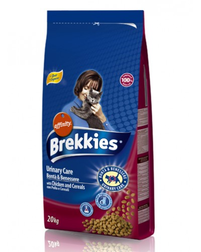 BREKKIES CAT URINARY CARE 20kg