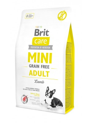 BRIT CARE MINI GRAIN FREE ADULT LAMB 400GR