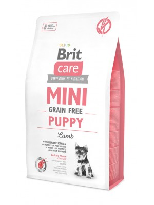 BRIT CARE MINI GRAIN FREE PUPPY LAMB 2KG
