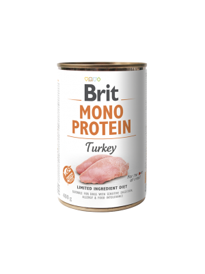 BRIT MONOPROTEIN TURKEY 400GR (ΓΑΛΟΠΟΥΛΑ)