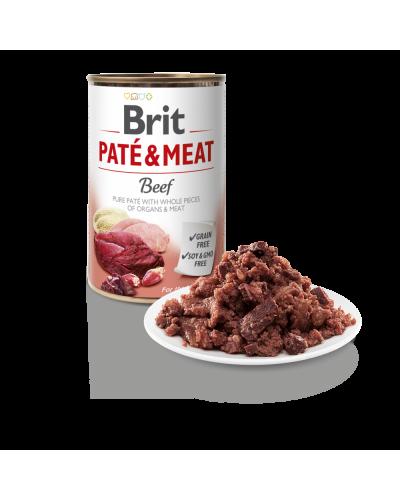 BRIT PATE & MEAT BEEF 400GR (ΜΟΣΧΑΡΙ)