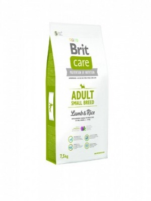 BRIT CARE ADULT SMALL LAMB & RICE 3KG