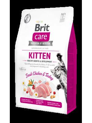 BRIT CARE KITTEN GRAIN FREE CHICKEN &TURKEY 2KG