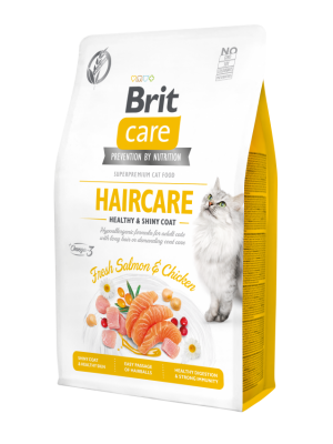 BRIT CARE HAIR CARE GRAIN FREE FRESH SALMON & CHICKEN 2kg