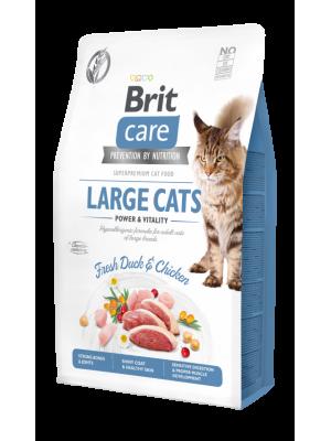 BRIT CARE LARGE CAT GRAIN FREE DUCK & CHICKEN 7KG
