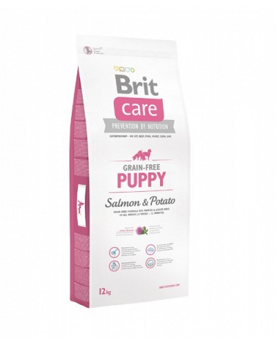 BRIT CARE PUPPY GRAIN FREE SALMON & POTATO 1KG