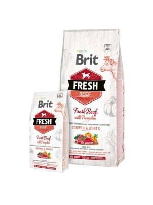 BRIT FRESH BEEF GROWTH & JOINTS 2,5KG (ΓΙΑ ΜΕΓΑΛΟΣΩΜΑ ΚΟΥΤΑΒΙΑ)