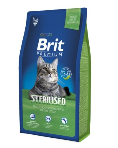 BRIT PREMIUM STERILISED 8KG