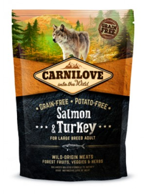 CARNILOVE ADULT LARGE BREED SALMON & TURKEY 1,5KG