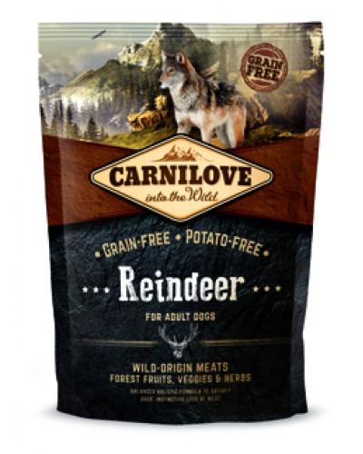 CARNILOVE ADULT DOG REINDEER 1,5KG