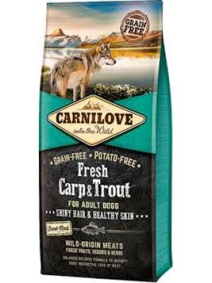 CARNILOVE FRESH ADULT DOG CARP & FRESH TROUT 12KG