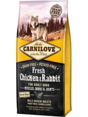 CARNILOVE FRESH ADULT DOG CHICKEN & RABBIT 12KG