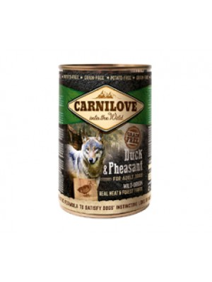 CARNILOVE ADULT DUCK & PHEASANT 400GR (ΠΑΠΙΑ & ΦΑΣΙΑΝΟΣ)