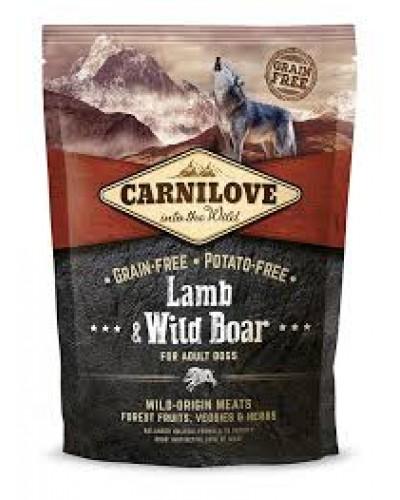 Carnilove Adult Dog Lamb & Wild Boar 1,5KG