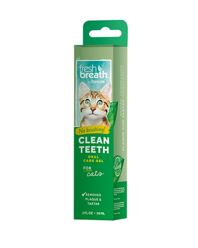 TROPICLEAN CLEAN TEETH GEL FOR CATS 59ML