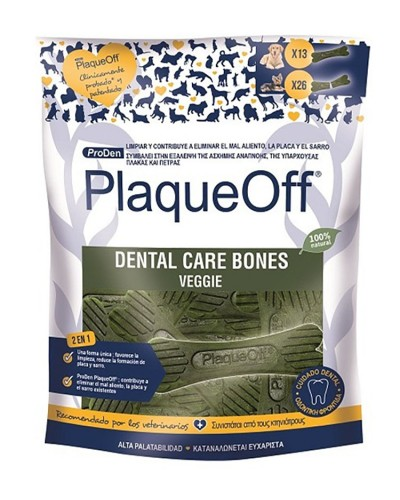 PLAQUE OFF DENTAL BONES 485GR