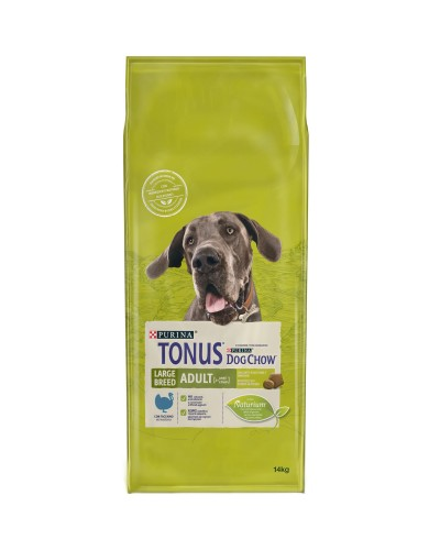 Tonus Dog Chow Adult Large Breed Γαλοπούλα 14kg