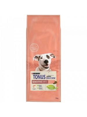 Tonus Dog Chow SENSITIVE σολομος 14kg