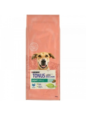 Tonus Dog Chow LIGHT γαλοπουλα 14kg