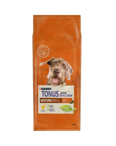 Tonus Dog Chow MATURE ADULT 5+ Chicken 14kg