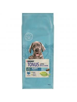 Tonus Dog Chow Puppy Large Breed Γαλοπούλα 14kg