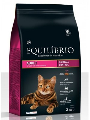 EQUILIBRIO ADULT CATS HAIRBALL 2kg