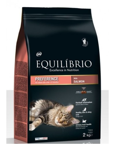 EQUILIBRIO ADULT CATS SALMON 2kg