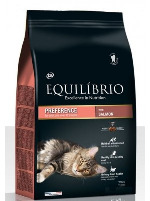 EQUILIBRIO ADULT CATS SALMON 7,5kg
