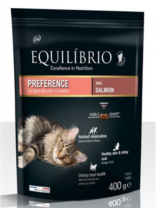 EQUILIBRIO ADULT CATS SALMON 400gr