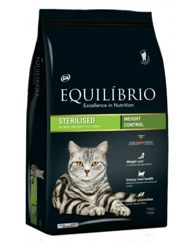 EQUILIBRIO STERILISED CAT 2KG
