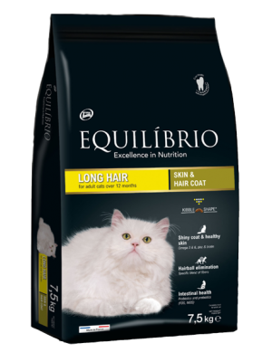 EQUILIBRIO LONG HAIR CATS 7,5kg